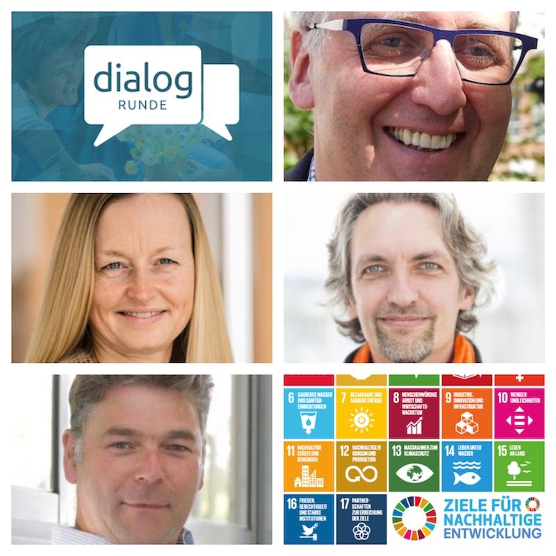 Speaker - Dialog: globale Entwicklungsziele
