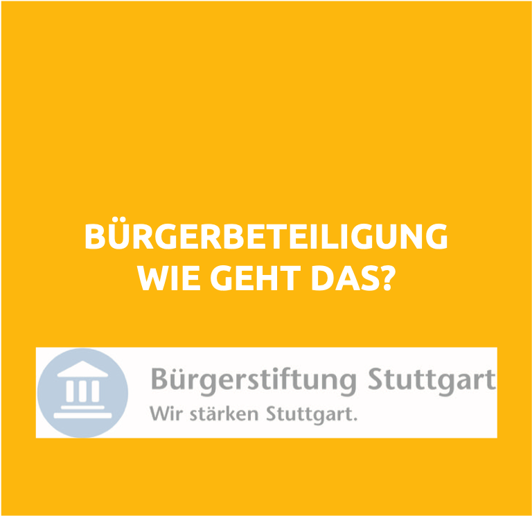 Speaker - Workshop Buergerbeteiligung
