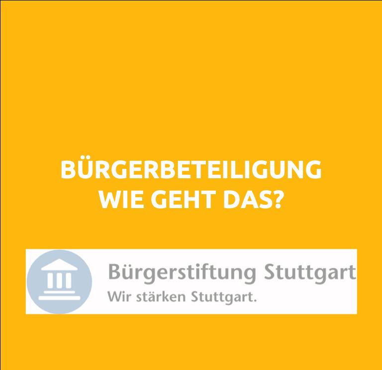 Speaker - Workshop Buergerbeteiligung
